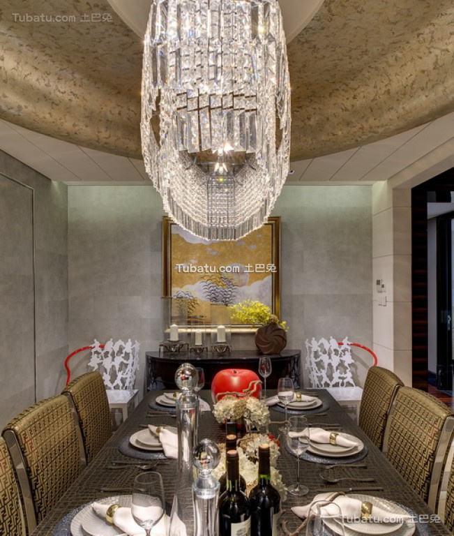 美幻欧式家装餐厅设计效果图