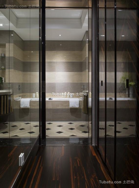 美幻欧式家装卫生间效果图