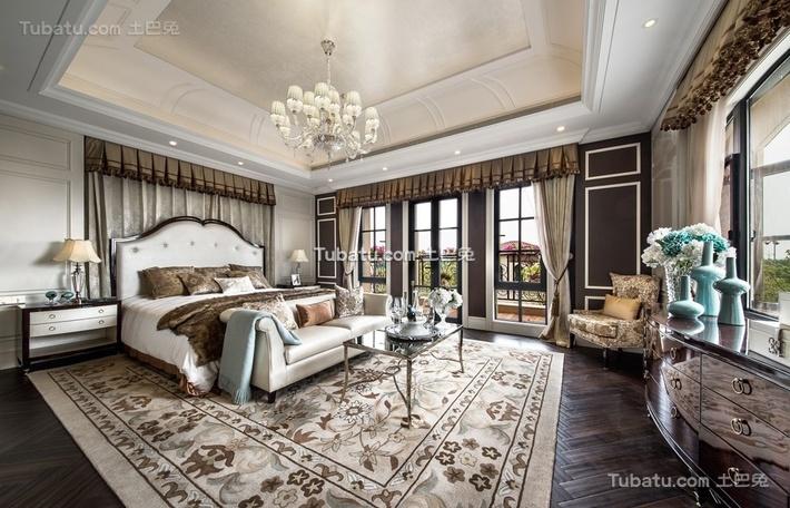 高雅欧风家装卧室效果图