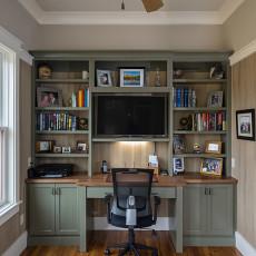 居家书房设计图