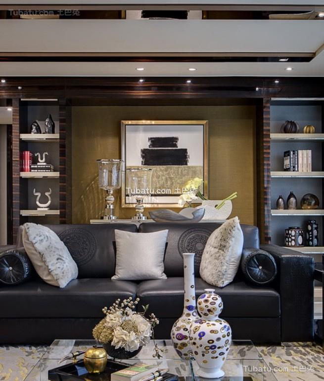 美幻欧式家装沙发背景墙效果图