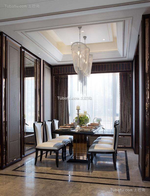 欧装新古典风格餐厅设计效果图