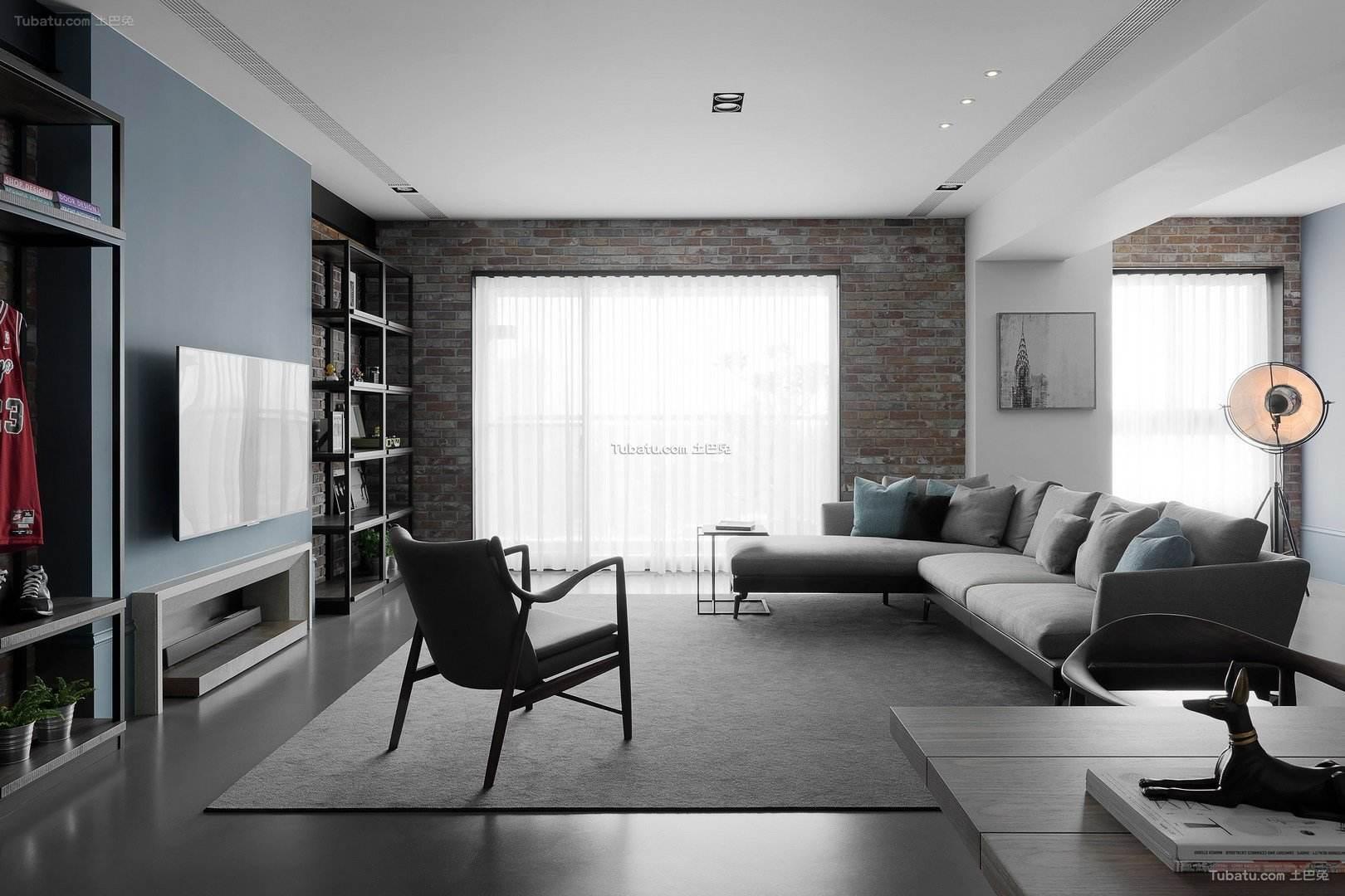 清馨美式家装客厅效果图