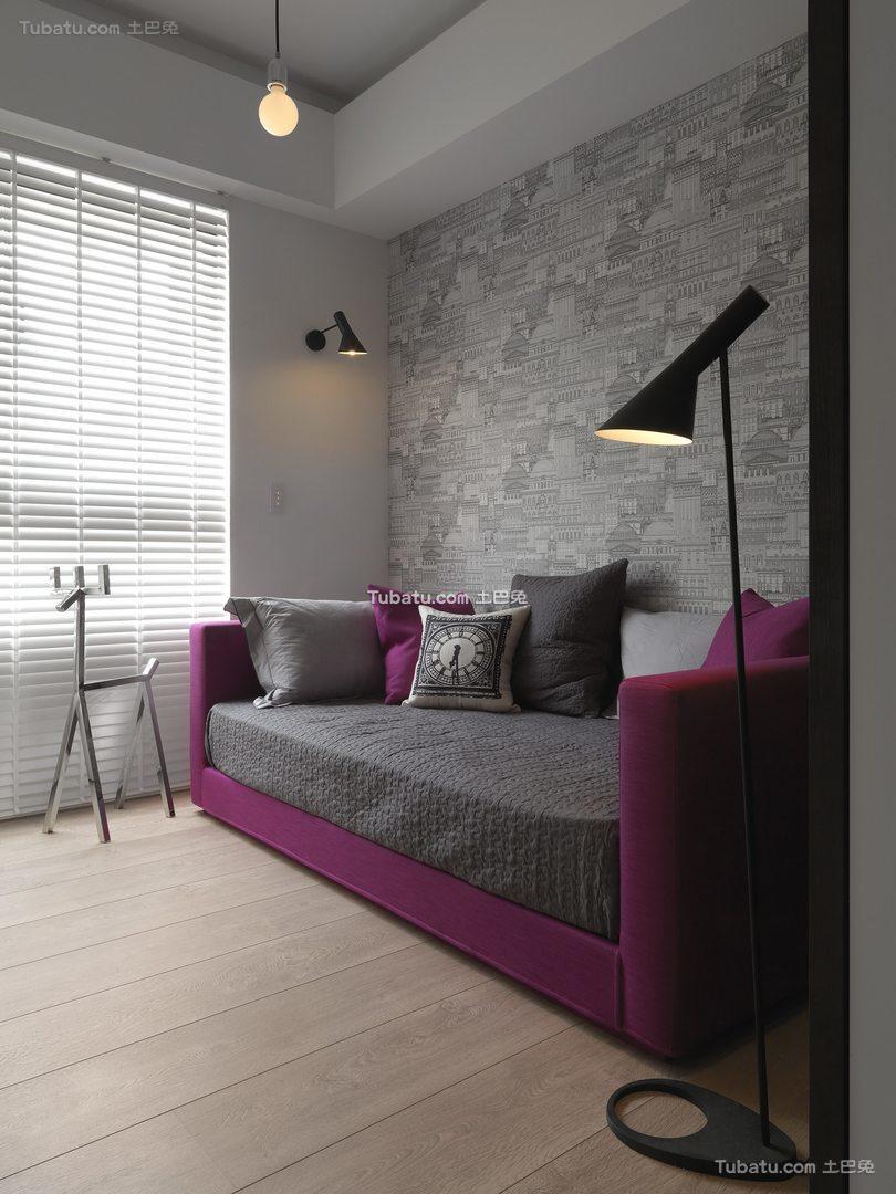 休闲北欧风格家装背景墙效果图