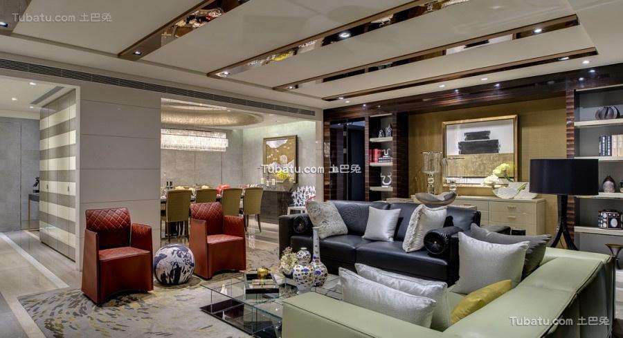 美幻欧式家装客厅效果图