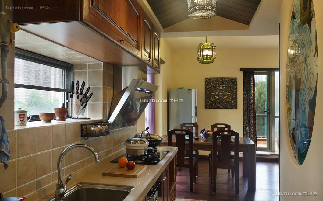 东南亚设计厨房家装效果图集