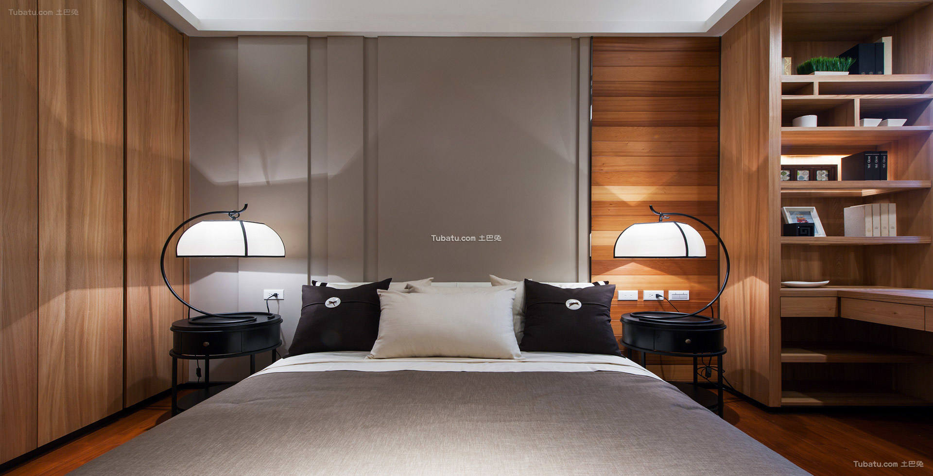中式典雅设计卧室家装效果图