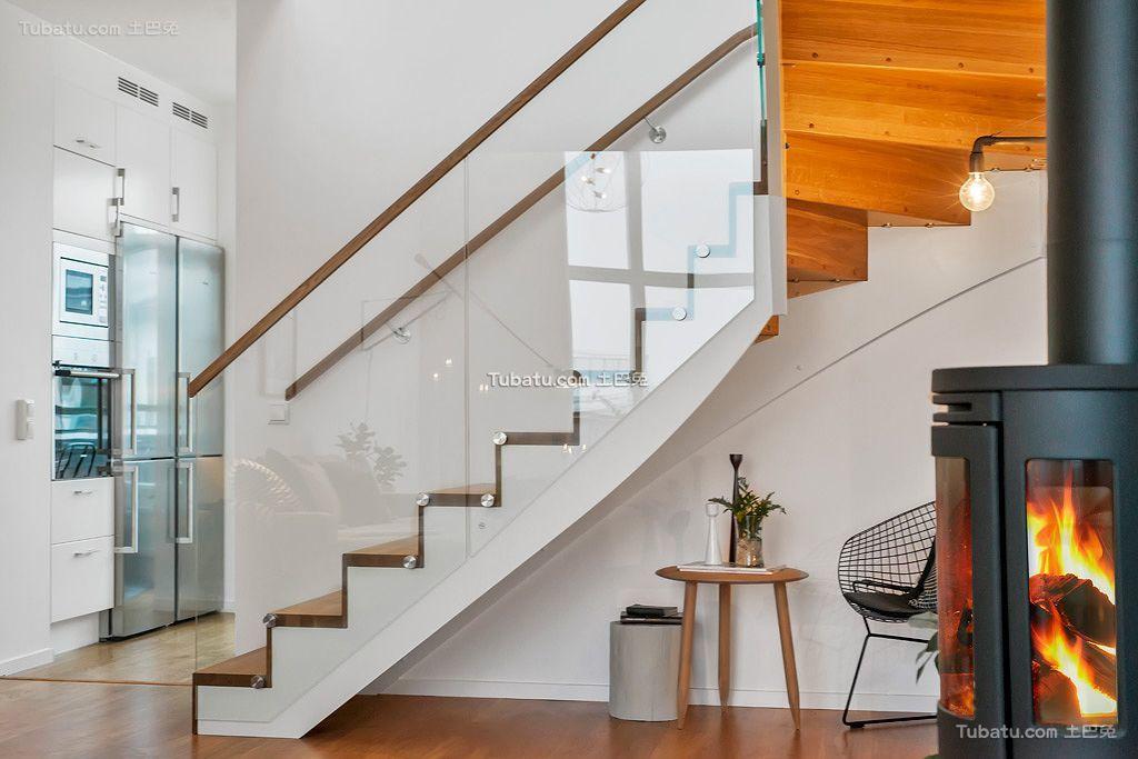 时尚北欧楼梯设计效果图