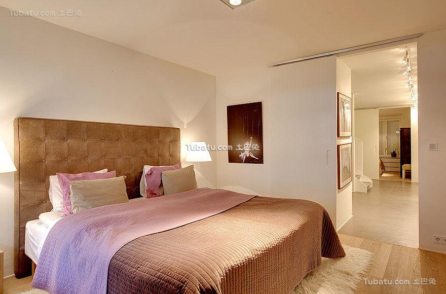 简约美式卧室家装效果图