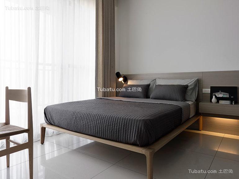 现代简约风格 卧室效果图