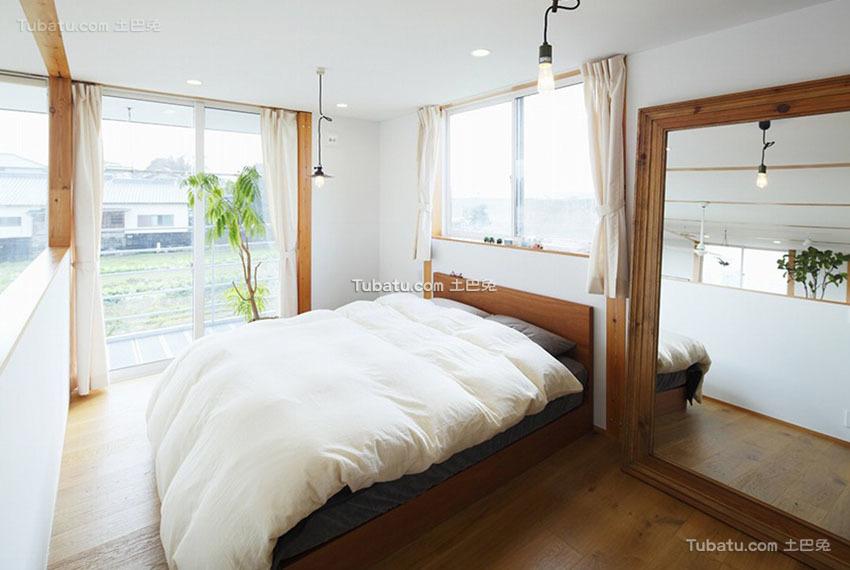 简约 卧室 效果图