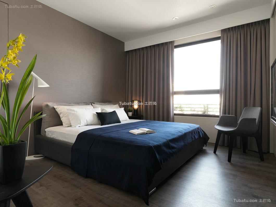 现代时尚卧室设计 效果图