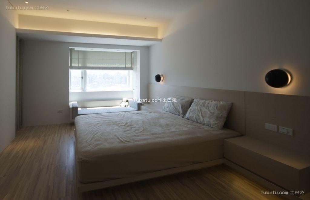 简约现代卧室家装设计效果图