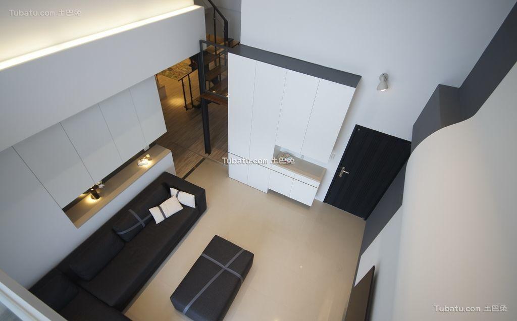 简约现代客厅家装效果图