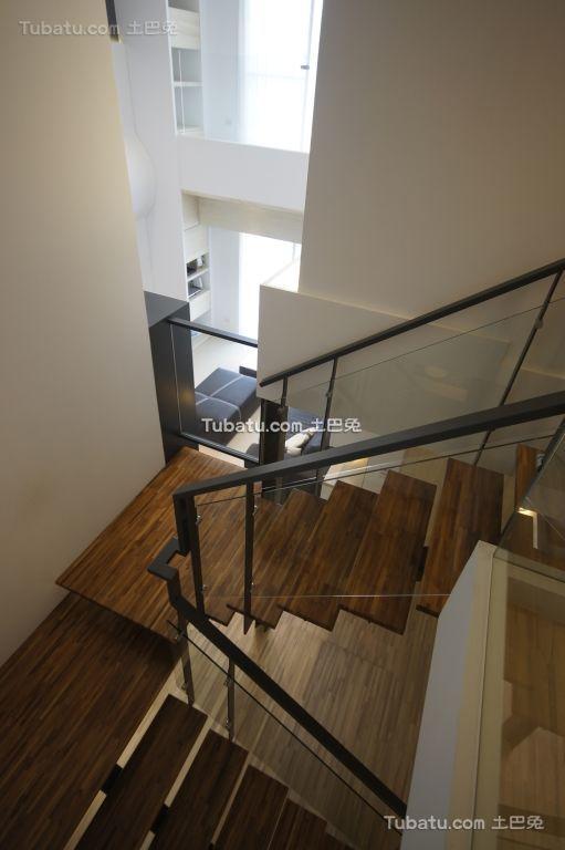 简约现代楼梯设计效果图片