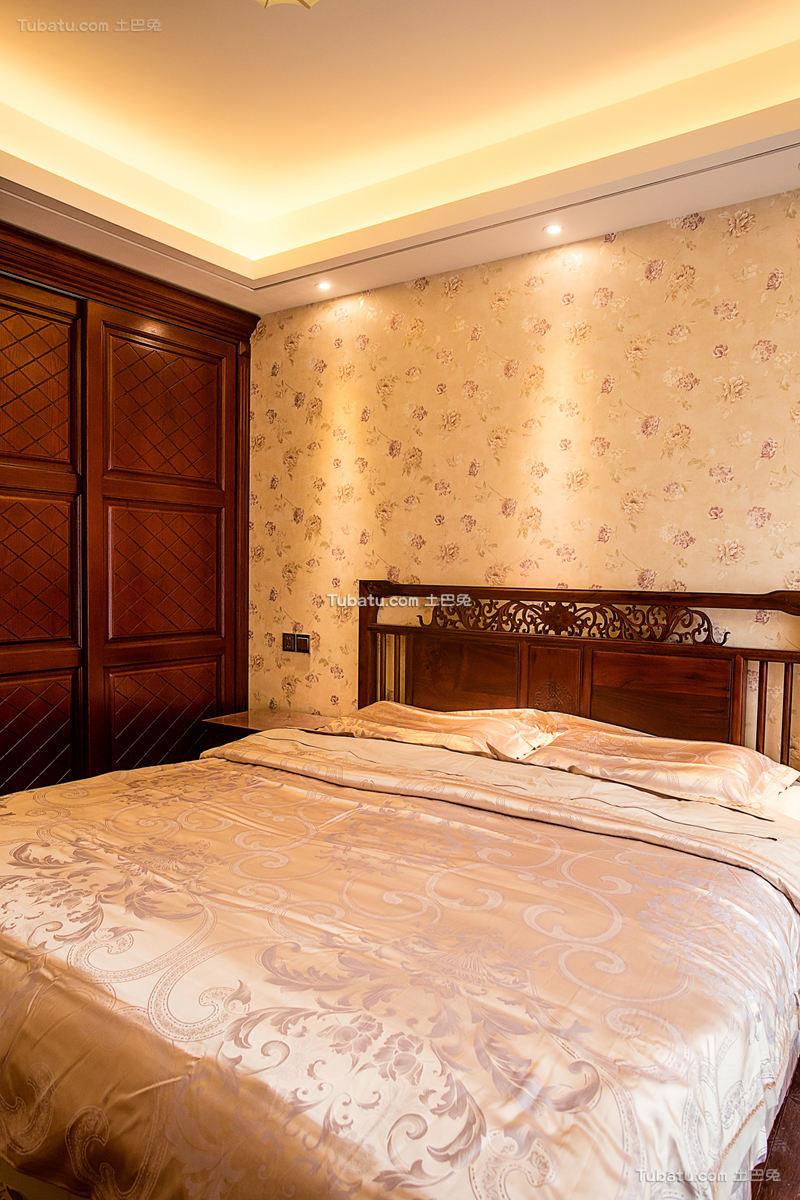 梦回红楼中式卧室效果图