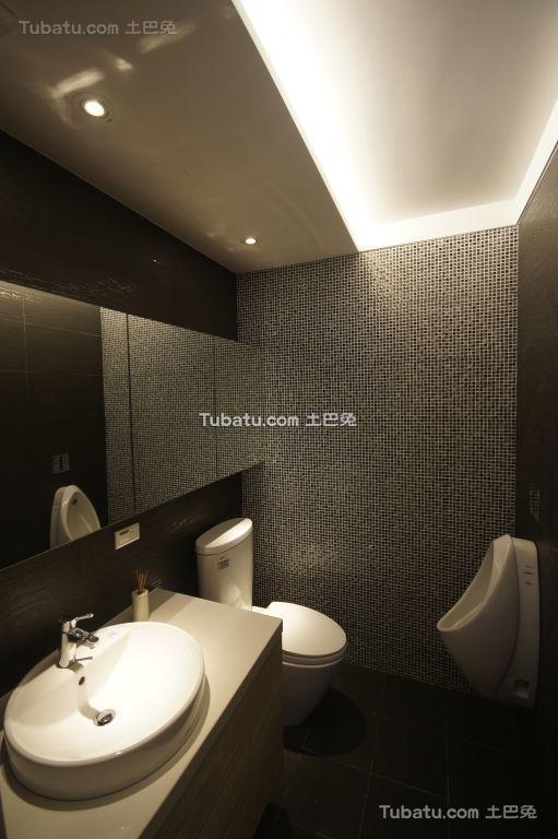 简约现代卫浴设计效果图