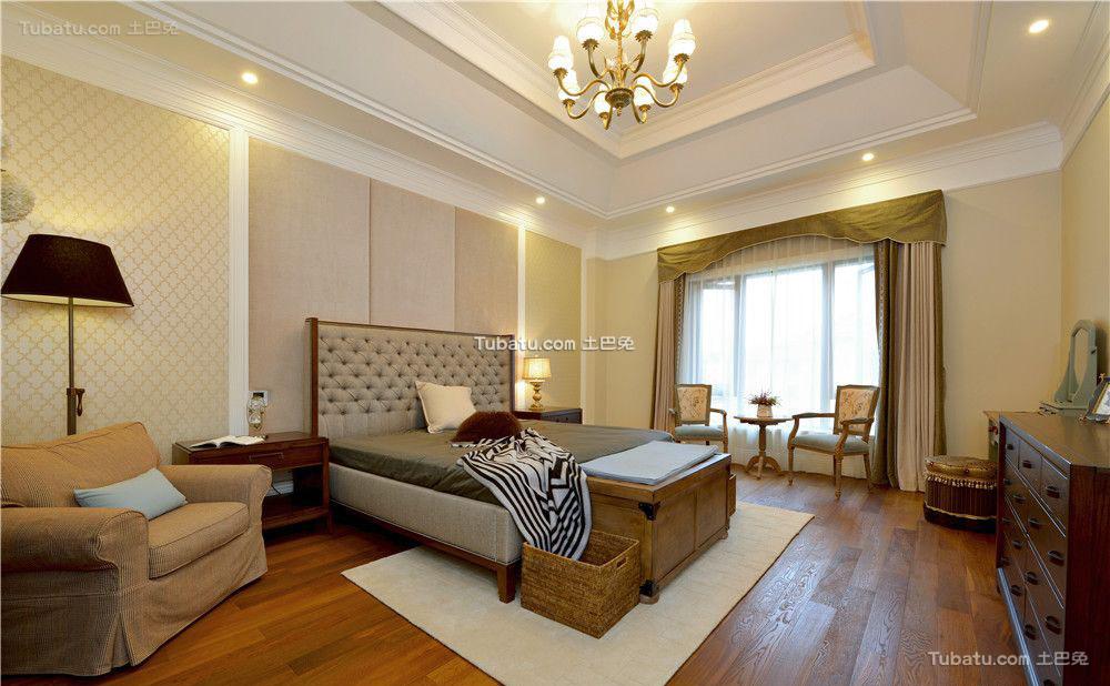 香草色欧式卧室设计