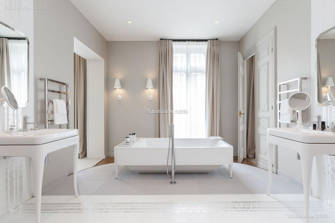 欧式卫浴设计装修图