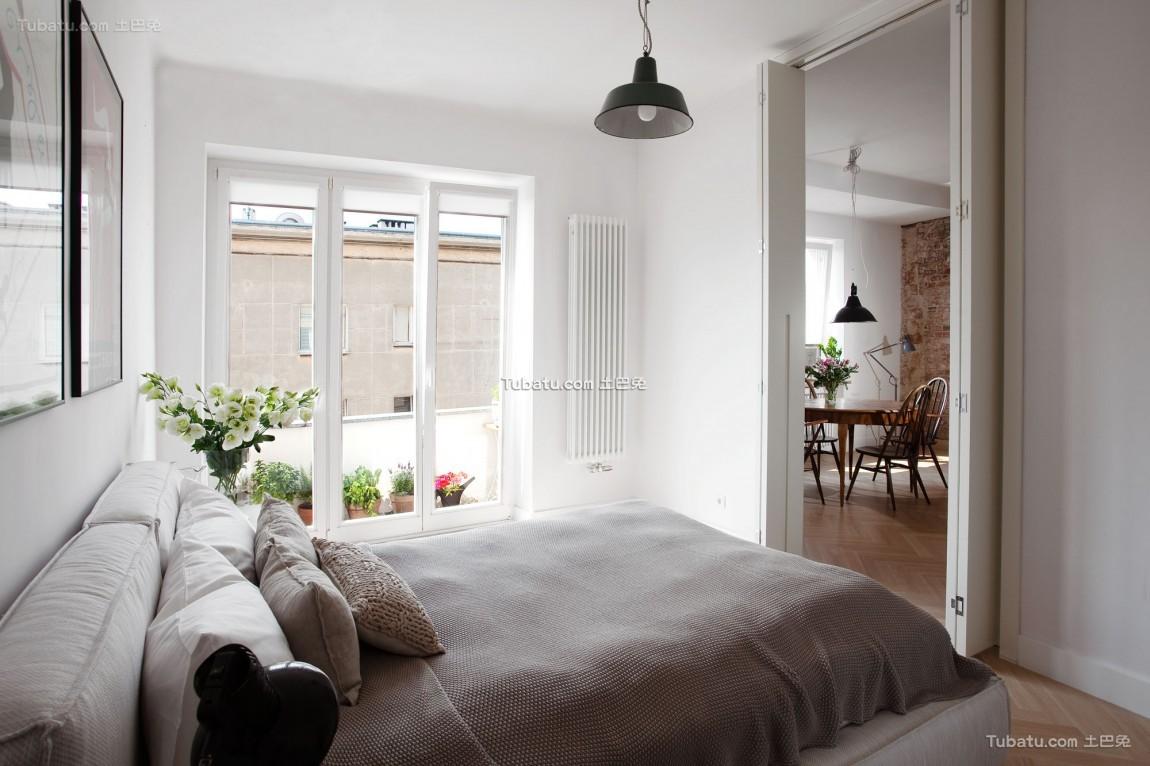 北欧卧室设计装修图