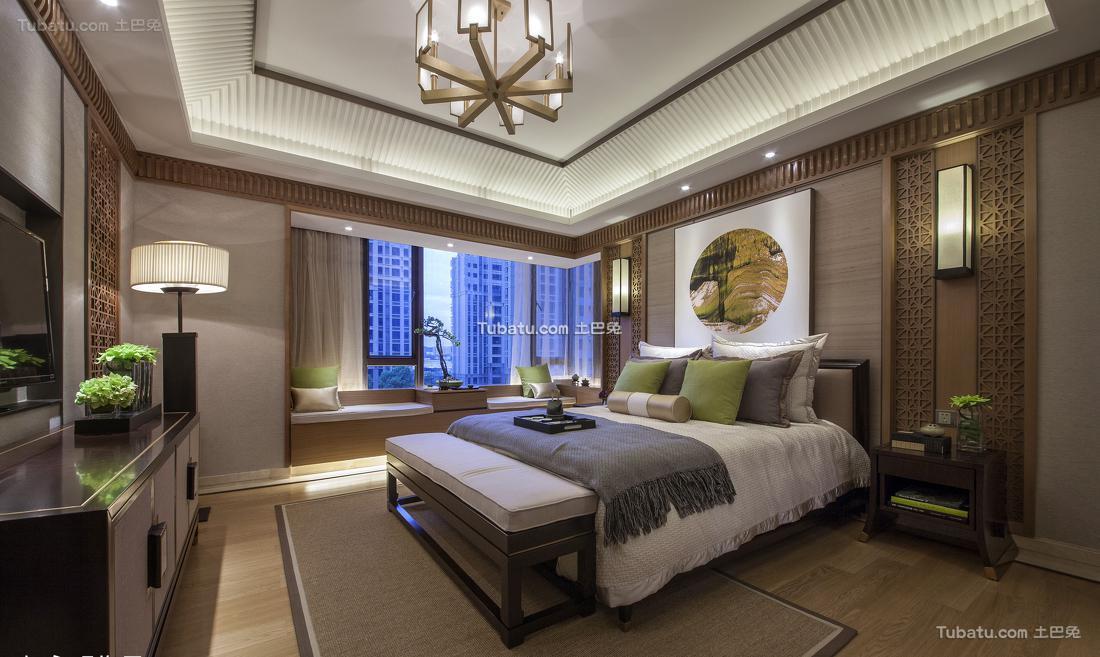 中式家装卧室装修图册