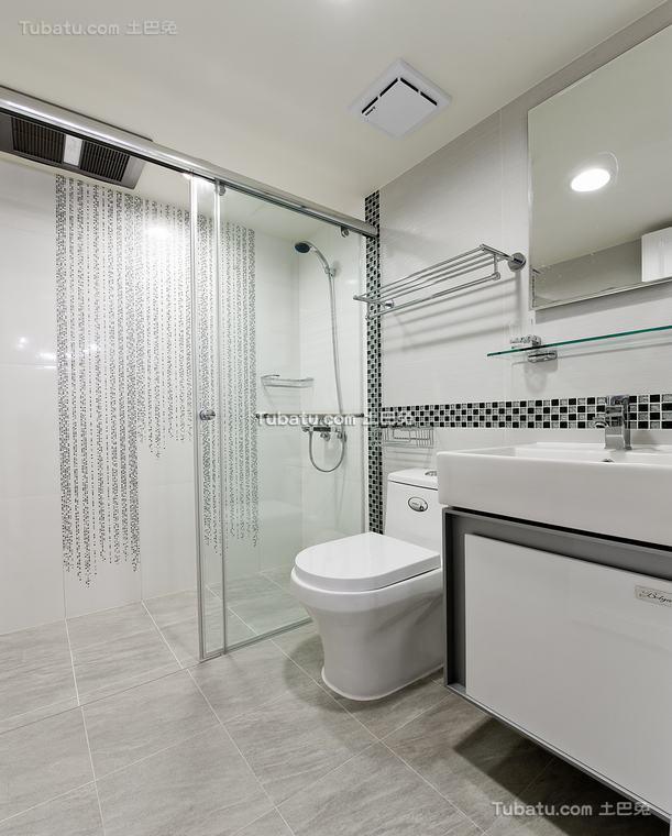 欧式格调卫浴设计装修图