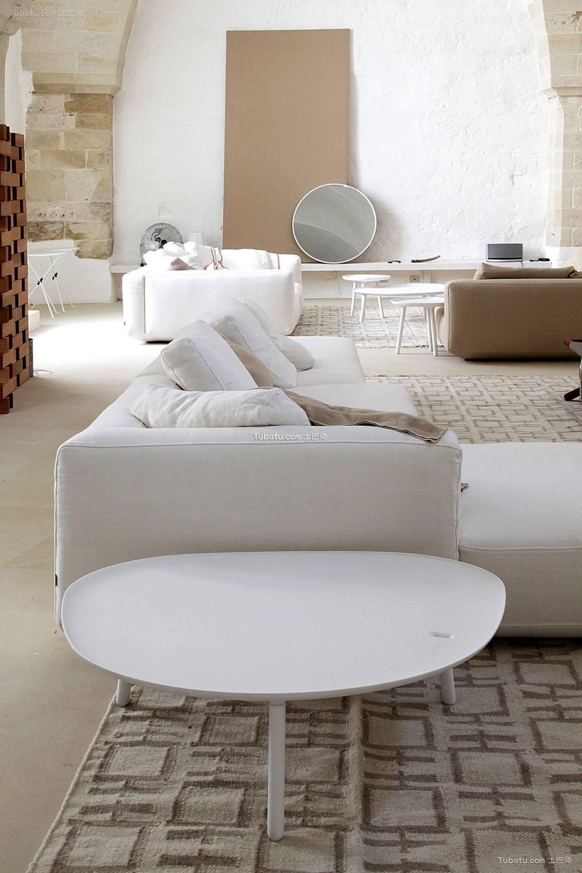 地中海时尚客厅装修图设计