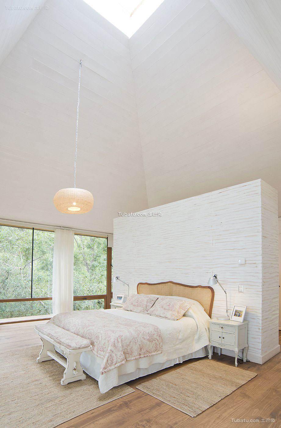 北欧风卧室装修图设计