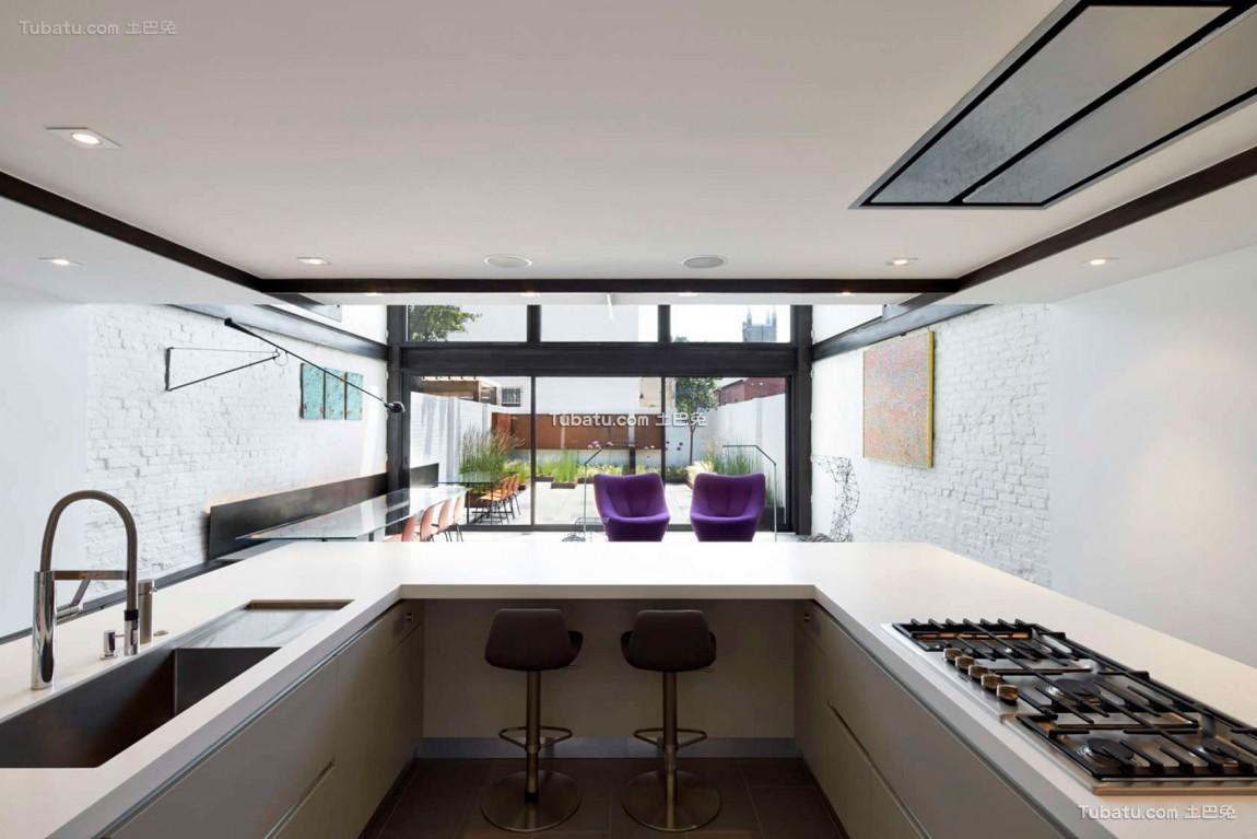 东南亚风厨房装修图设计