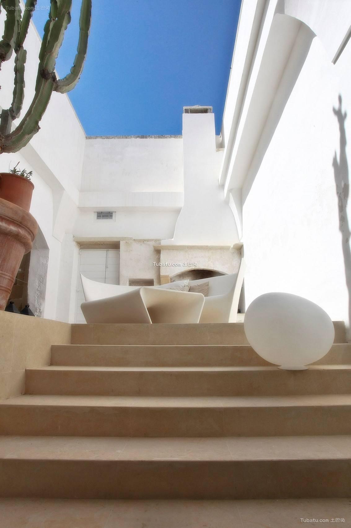 地中海楼梯装修图设计