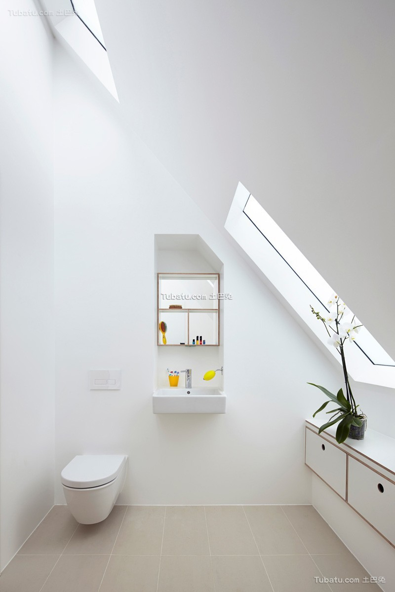 简约现代居家卫浴设计