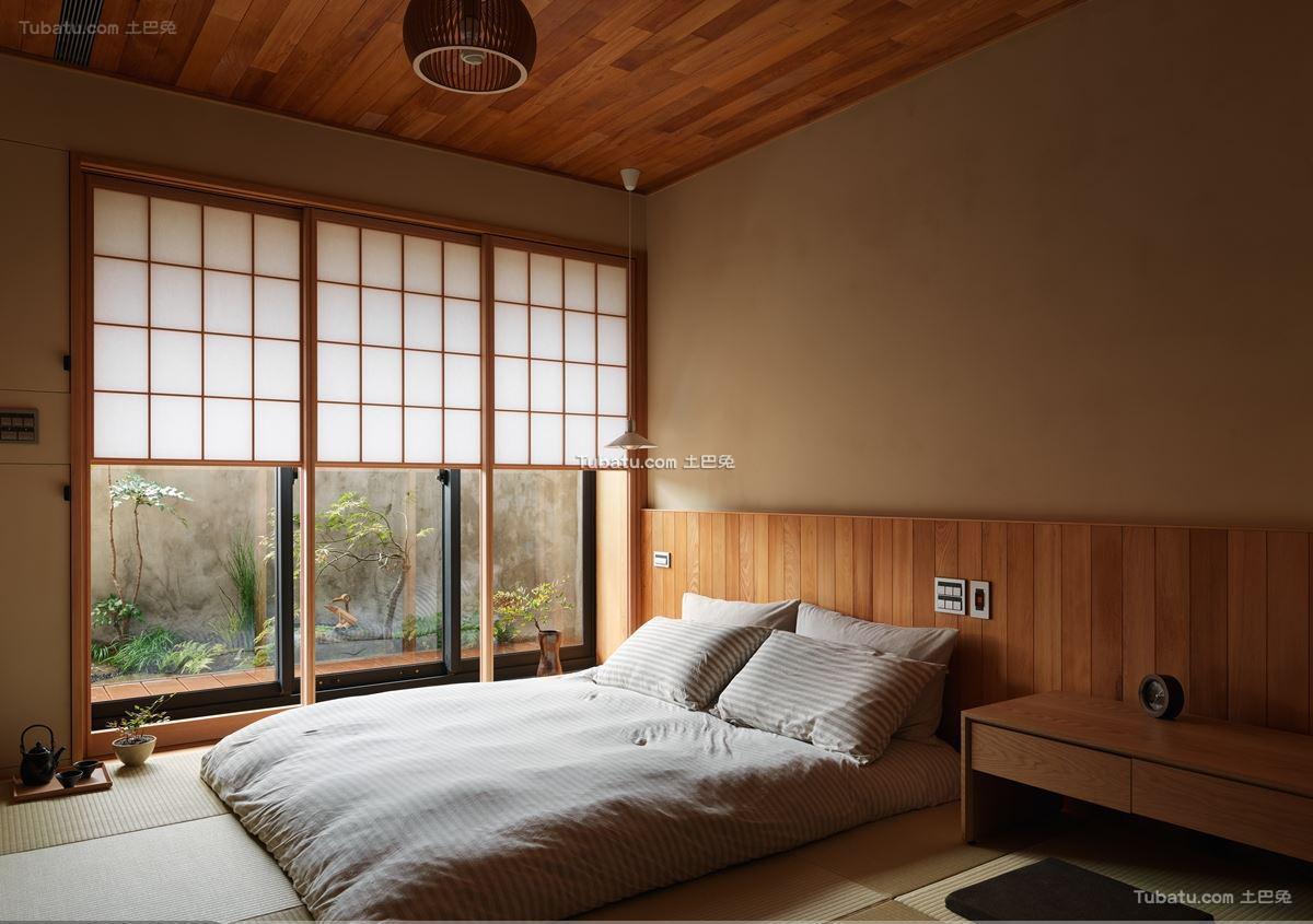 日式风卧室家装设计