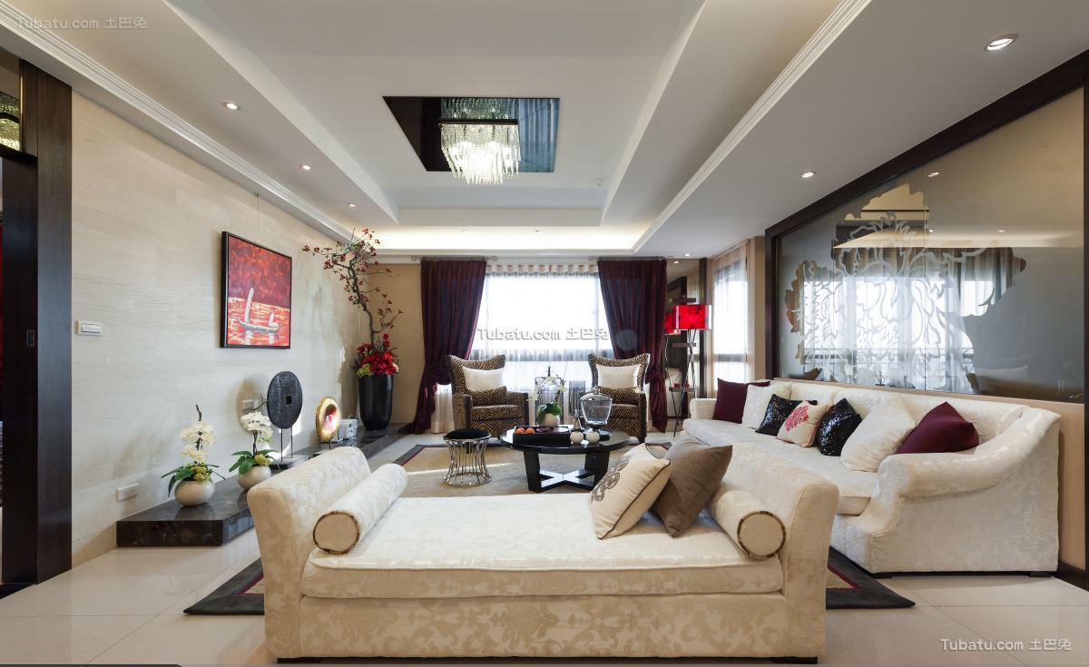 中式电视背景墙设计