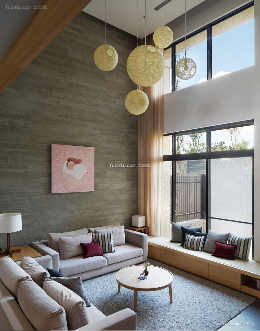 日式风客厅家装设计