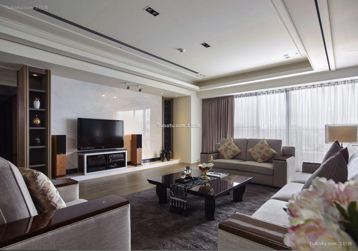 中式东方风华三居室设计