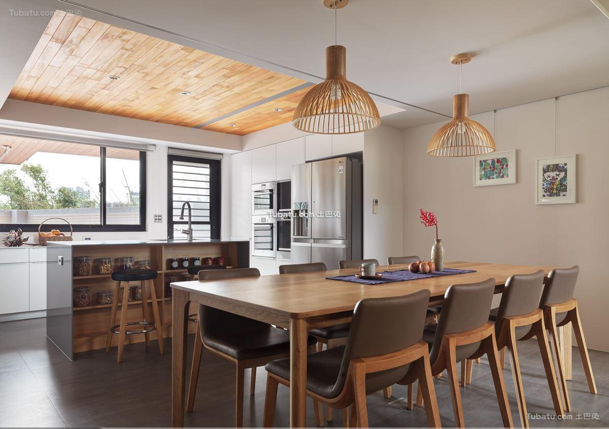 日式风餐桌家装设计