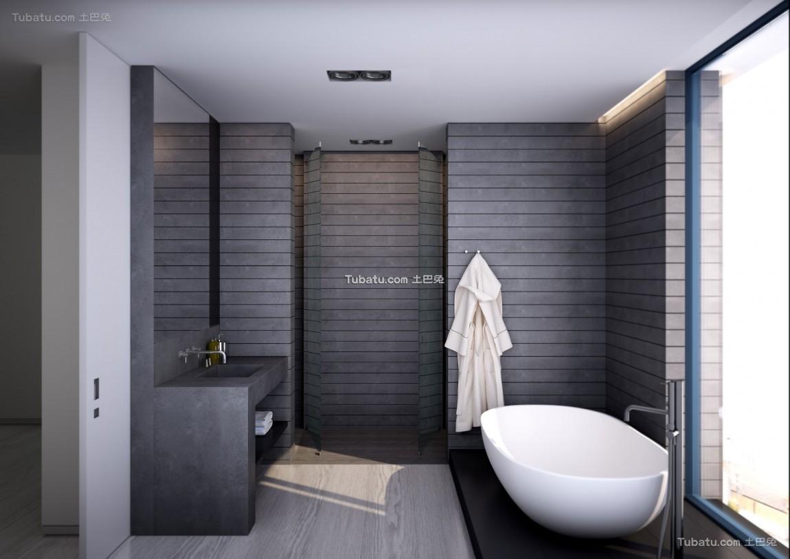 北欧风卫浴设计