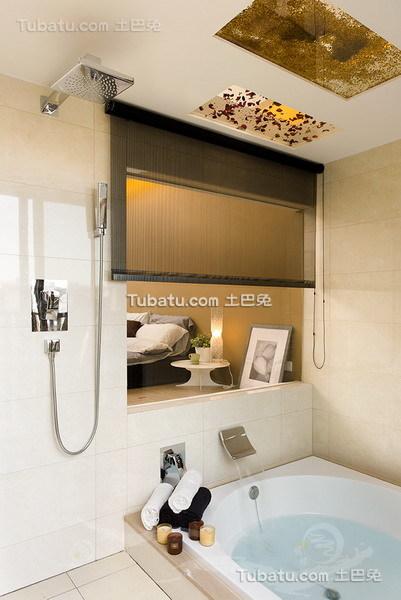 现代家族卫浴装修图设计