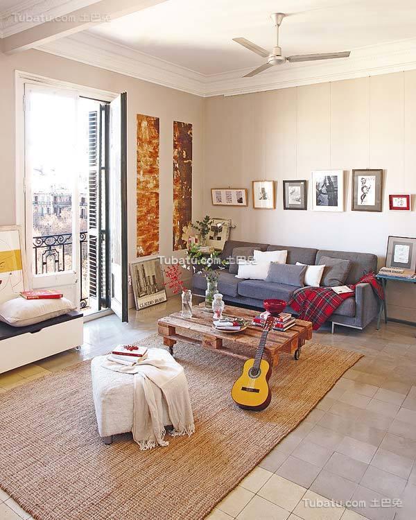 田园风家装公寓装修图设计