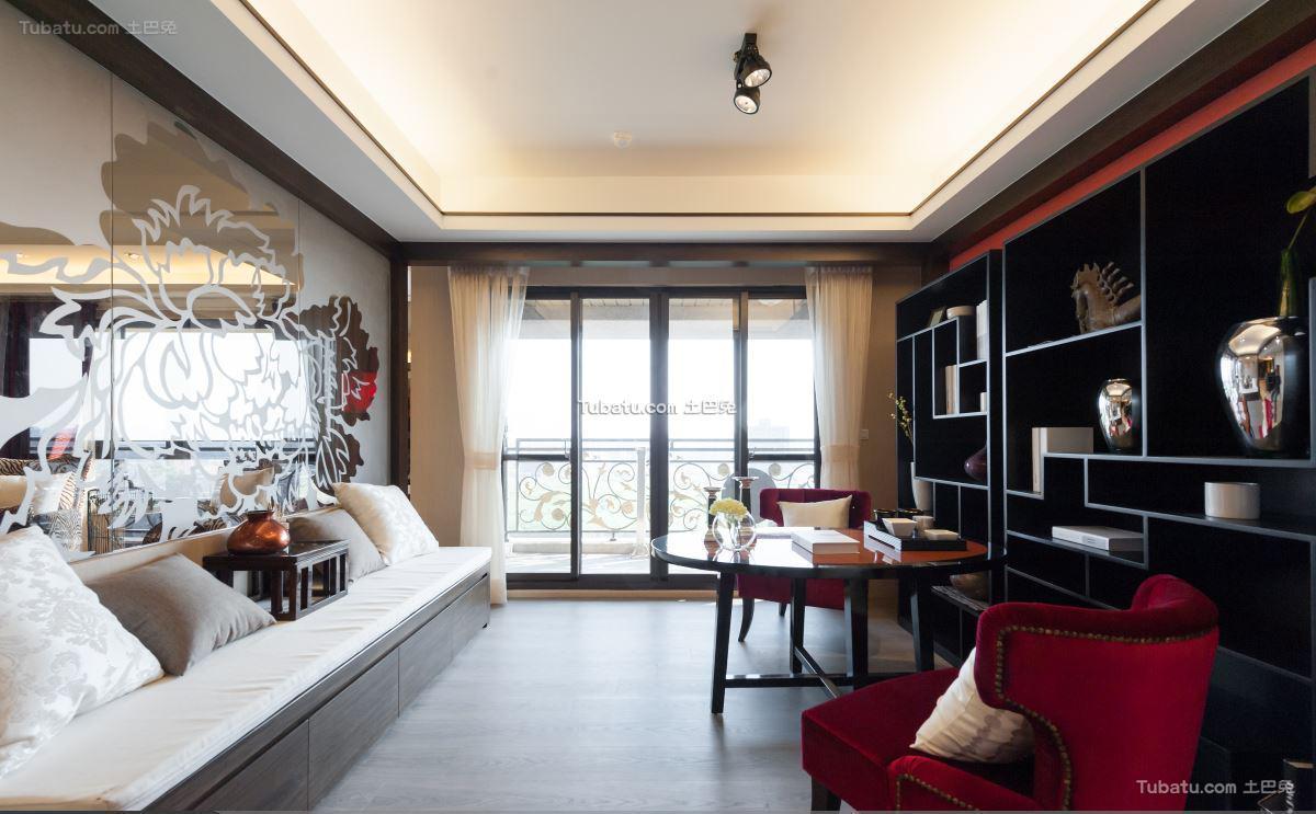 中式客厅装修图设计