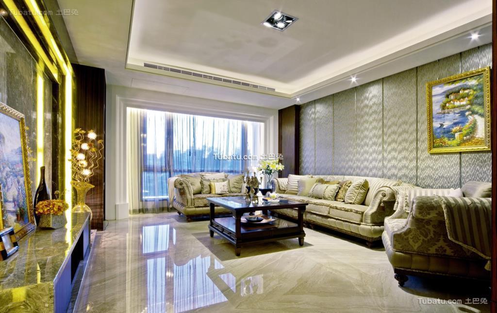 欧式一居室设计图大全