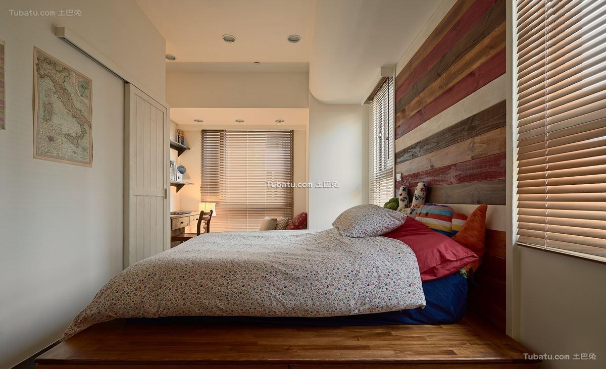 中式风装修卧室设计效果图
