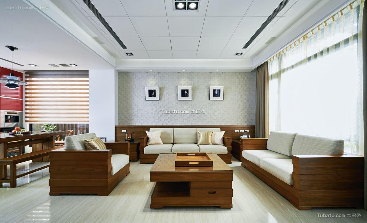 中式家装两居室设计大全