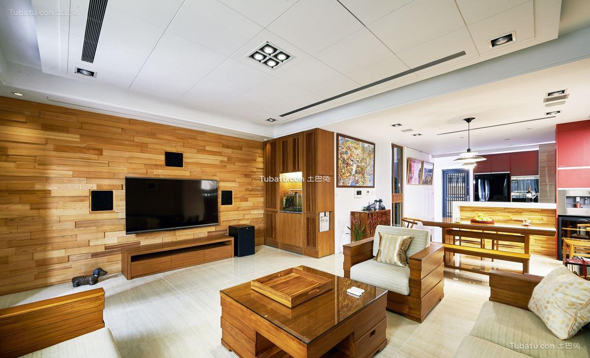中式家装客厅设计大全