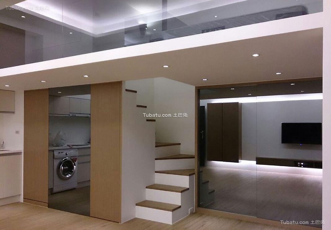 现代家装楼梯设计图集