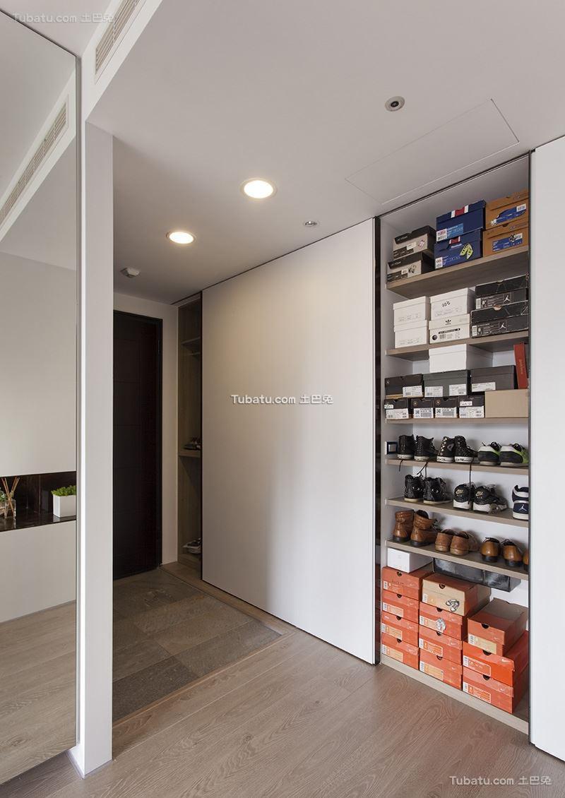 现代简约鞋柜装修效果图设计
