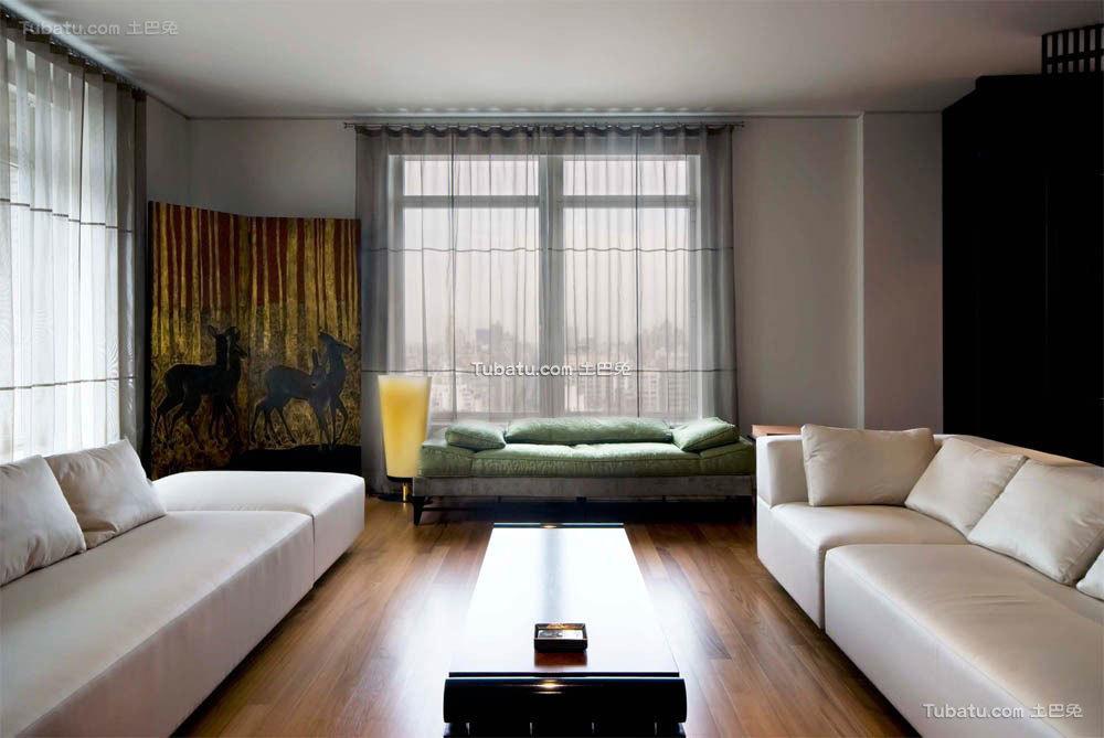 中式风格家装窗帘设计大全