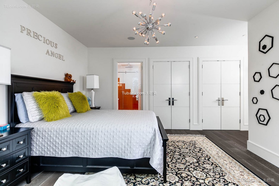 现代卧室图31