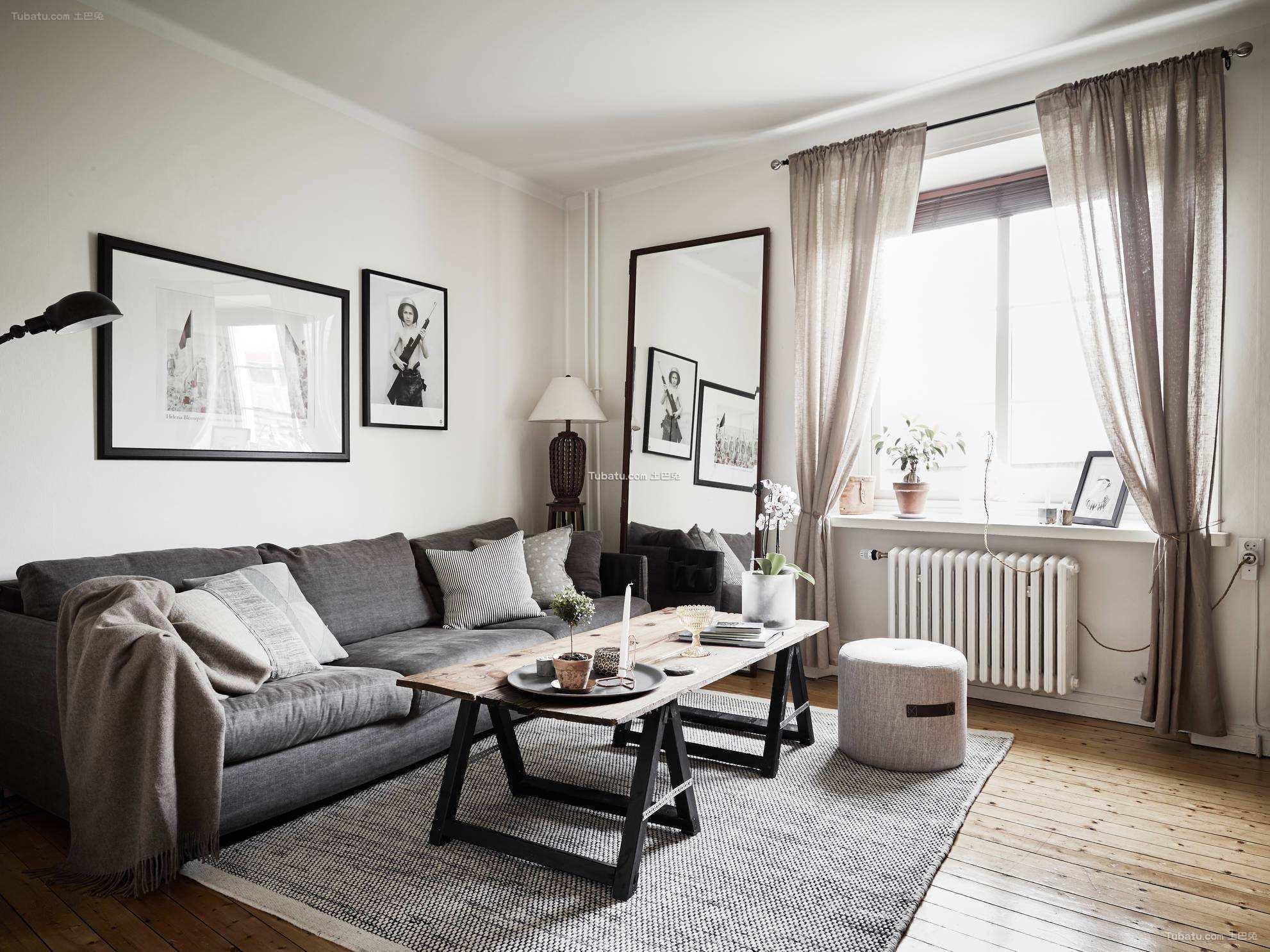 北欧风格一居室图册
