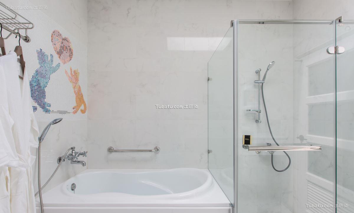 简约风卫浴设计